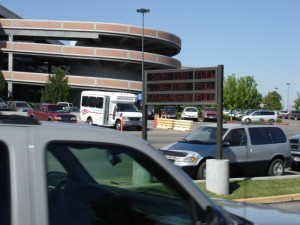 Boise Airport parking garage