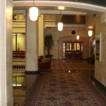 Hallway inside the Hoff Building
