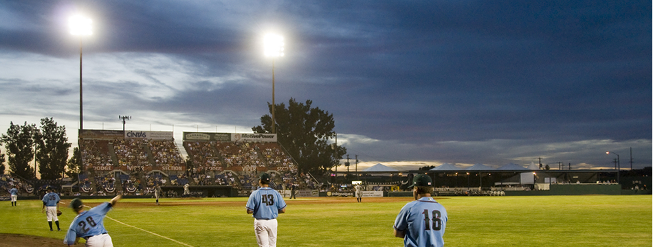 HAWKS STADIUM LIGHTING BASEBALL BOISE IDAHO