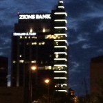 Zions bank sign 8th & Main