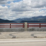 McCall Bridge with Mountains