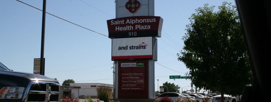 St Al's Billboard