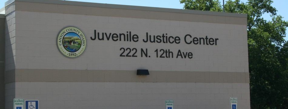 Juvenile Justice Center Sign