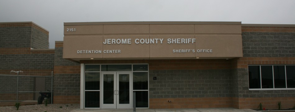 Jerome County Jail Entrance