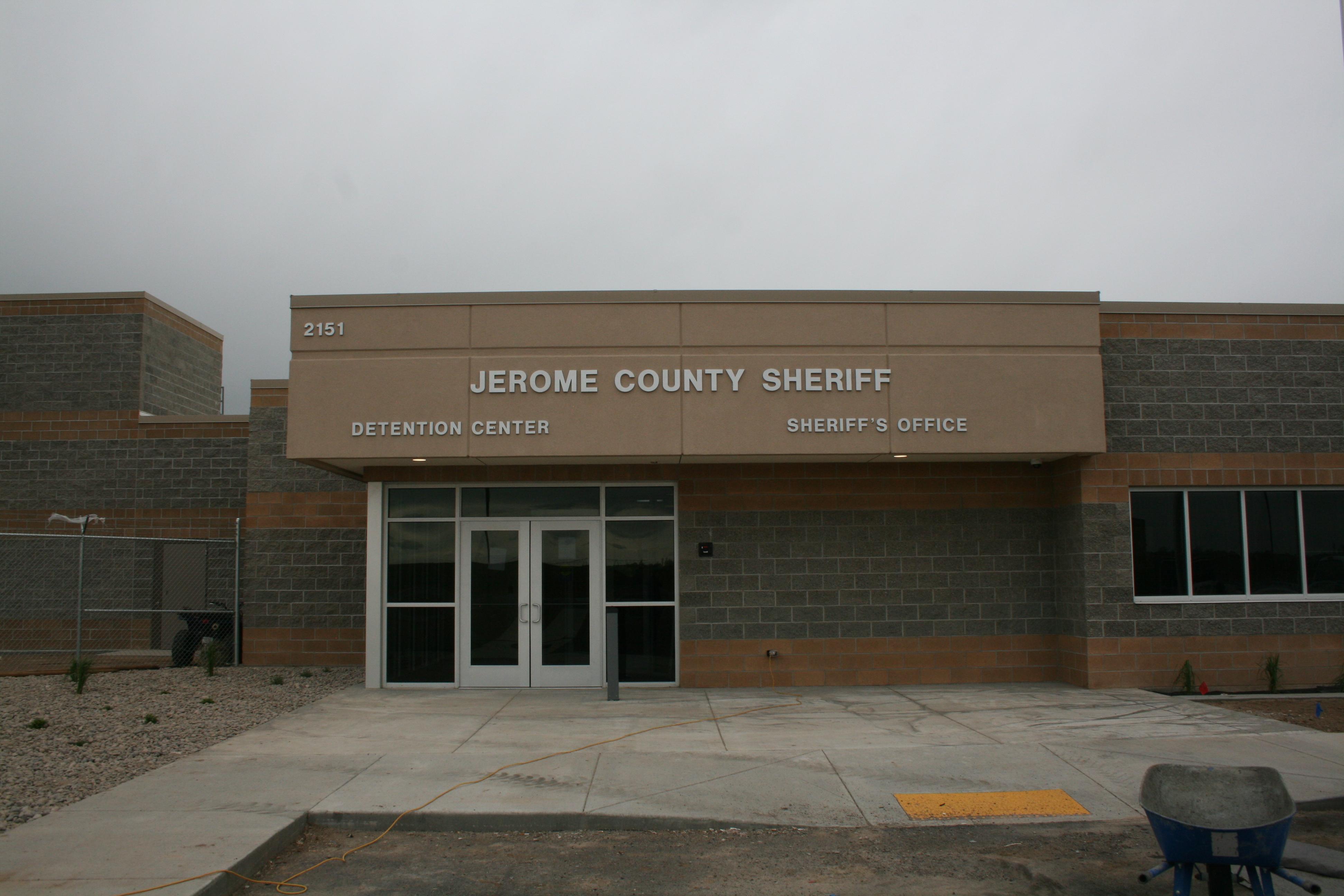 Jerome County Jail Entrance