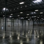 Wide Shot Warehouse